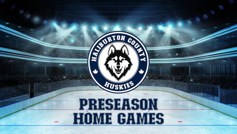 Huskies Pre-Season Home Schedule